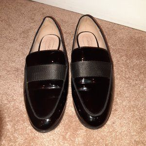 Mango Patent Leather Loafer - 8